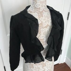 Jackets & Blazers - Suede feel bolero jacket